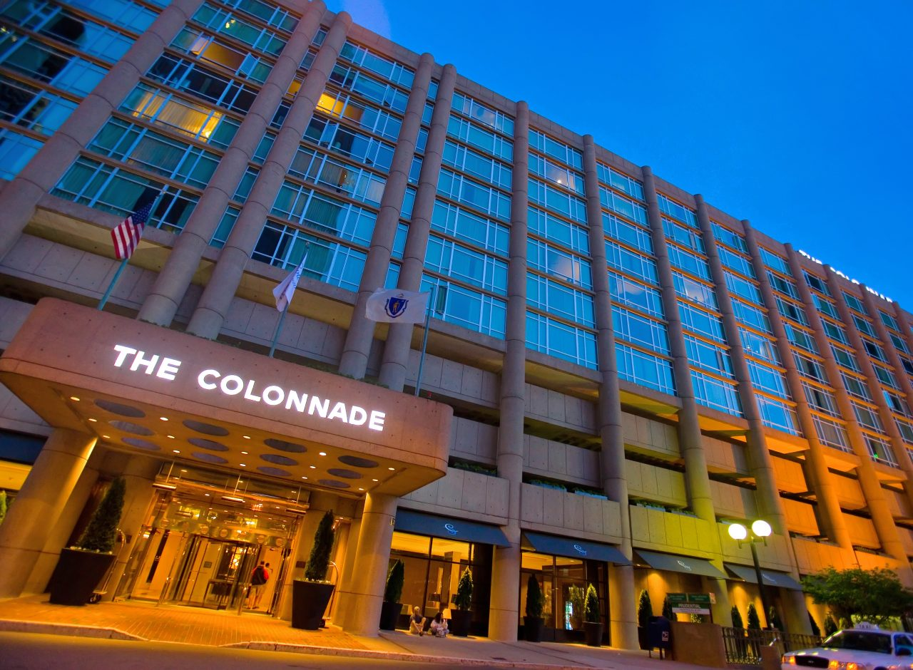 The colonnade hotel exterior